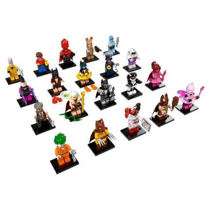 Конструктор LEGO Minifigures Минифигурки ЛЕГО фильм: БЭТМЕН 71017