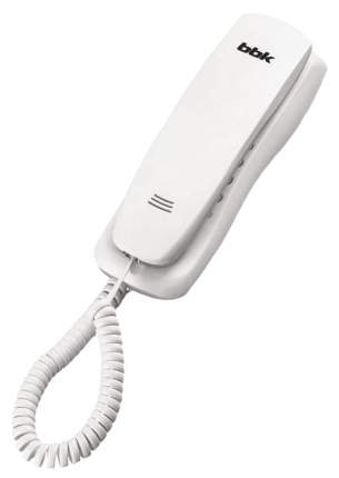Телефон проводной BBK BKT-105 RU белый