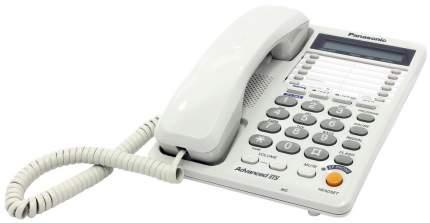 Проводной телефон Panasonic KX-TS2368RUW белый