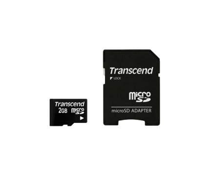 Карта памяти Transcend Micro SD TS2GUSD 2GB