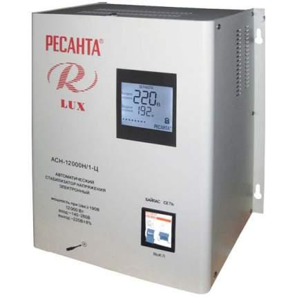 Однофазный стабилизатор Ресанта АСН-12000 Н/1-Ц