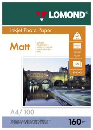 Фотобумага для принтера A4 LOMOND A4 160г/кв.м односторонняя матовая 100 л