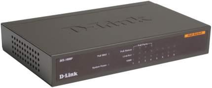 Коммутатор D-Link DES-1008P/C1A Черный