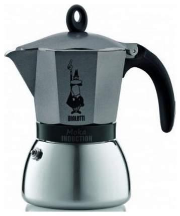 Кофеварка гейзерная Moka Induzione antracite 4823