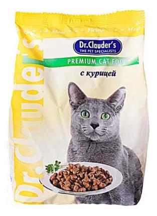 Сухой корм для кошек Dr.Clauder's Premium Cat Food, курица, 15кг