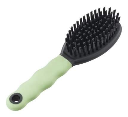 Расческа для кошек Ferplast натуральная щетина, цвет зеленый, черный