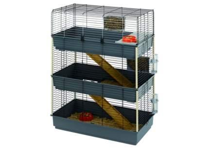 Клетка для грызунов Ferplast 137х51.5х99см выдвижной лоток для отходов, на колесах