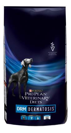 Сухой корм для собак Pro Plan Veterinary Diets DRM Dermatosis, при дерматозах, рыба, 12кг