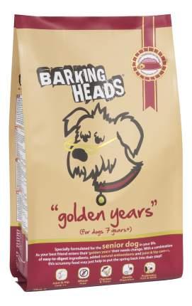 Сухой корм для собак Barking Heads Golden Years, для пожилых, курица, рис, 12кг