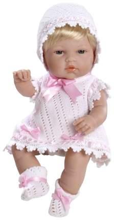 Пупс Arias Elegance в белом с розовым платье 33 см Т59268