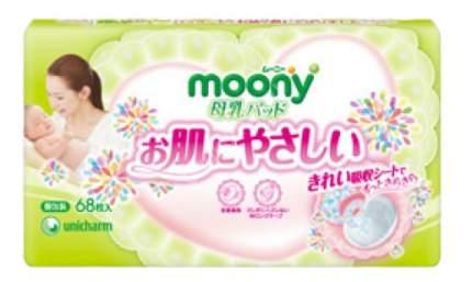 Прокладки для груди Moony Одноразовые 68 шт.