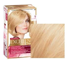 Краска для волос L`Oreal Paris Excellence 9 очень светло-русый