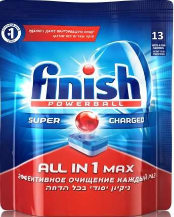 Таблетки для посудомоечной машины Finish all in 1 max 13 штук