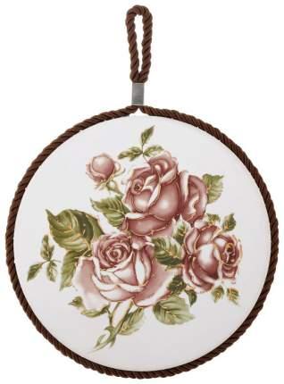 Подставка под горячее Loraine 24555 Белый, зеленый, розовый, коричневый