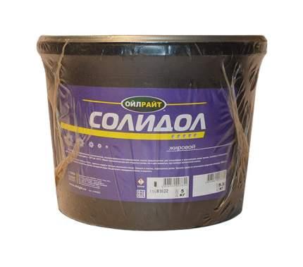 Солидол жировой OILRIGHT 6049 5 кг