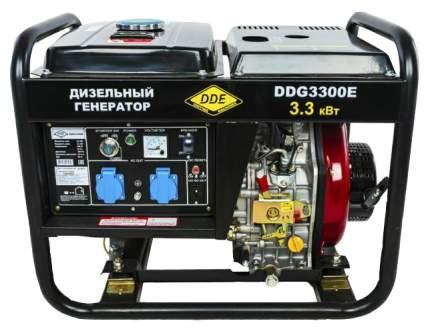 Дизельный генератор DDE DDG3300E