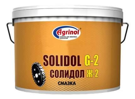 Специальная смазка для автомобиля Агринол Смазка Солидол Ж-2 4.5 кг