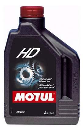 Трансмиссионное масло MOTUL HD 80W90 2л 100103