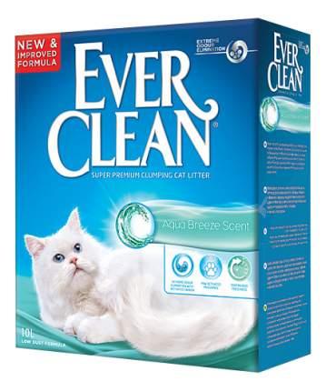 Наполнитель Ever Clean комкующийся 10 л морская свежесть