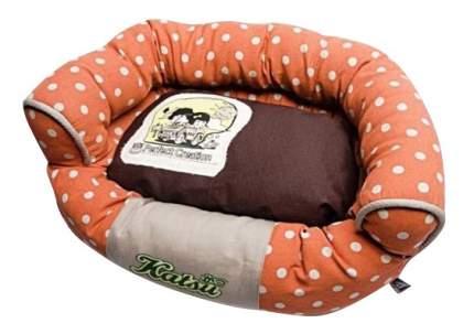 Лежанка для кошек и собак Katsu 40x60x18см оранжевый