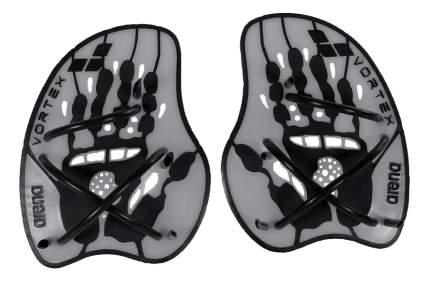 Лопатки для плавания Arena Vortex Evolution Hand Paddle 95232 серебристые (15) M