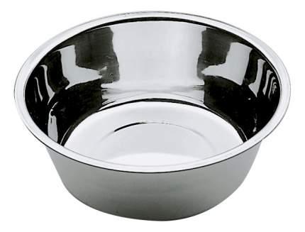 Одинарная миска для кошек и собак Ferplast, сталь, серебристый, 1.7 л