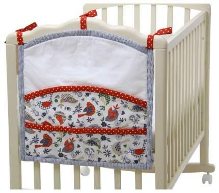 Текстильная карман в детскую кроватку Polini Кантри 0001417.13.5