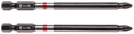 Набор бит Hammer Flex 203-169 PH-2 100мм, 2шт, 362927