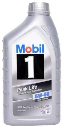 Моторное масло Mobil Peak Life 5w-50 1л