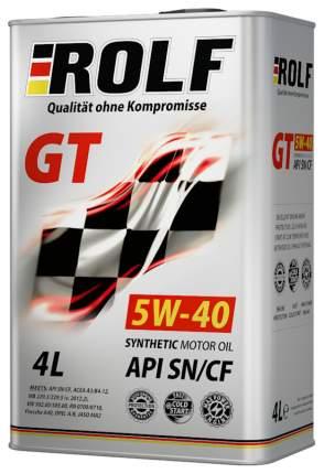 Моторное масло Rolf GT 5W-40 4л 322229