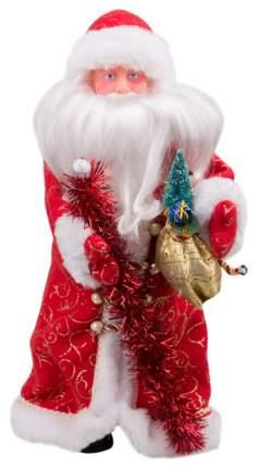 Кукла декоративная Яркий праздник Дед Мороз Красный 41 см