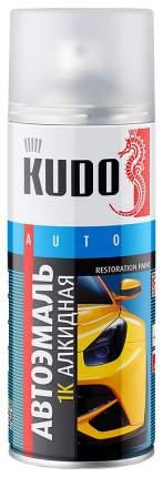 Эмаль автомобильная  KUDO KU4034 черный 520 мл