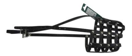 Намордник Аркон кожаный 32 см, цвет черный