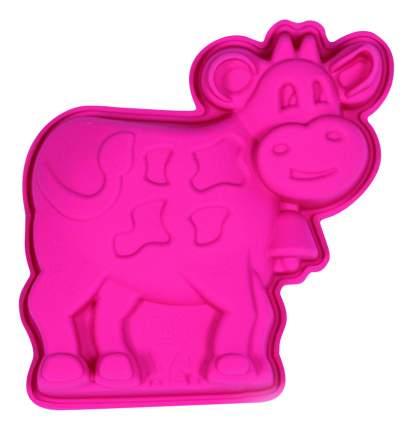Форма для выпечки SILIKOMART Корова розовая