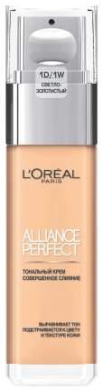 Тональный крем L'OREAL PARiS Alliance Perfect Совершенное слияние Cветло-золотистый 30 мл