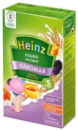 Молочная каша Heinz Лакомая Рисовая абрикос, чернослив с 5 мес 200 г