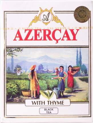 Чай черный Азерчай с чабрецом 100 г