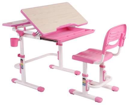 Парта детская FunDesk Lavoro со стулом Pink