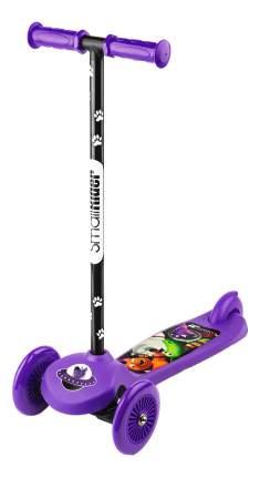 Самокат трехколесный Small Rider Cosmic Zoo Scooter фиолетовый
