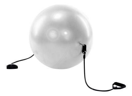 Гимнастический мяч Bradex Фитбол-65 с эспандерами серый 65 см