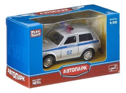 Модель автомобиля Лада 2121 Полиция 1:50 Play Smart А74776