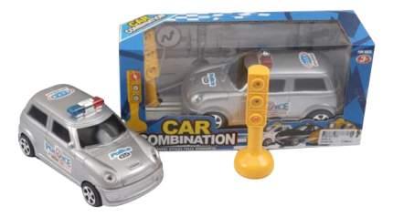 Машина Полиция со светофором Gratwest Б81745