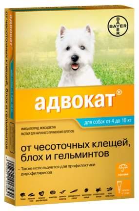 Средство от блох для домашних животных Bayer GL Адвокат 100 1 мл 1 пипетка