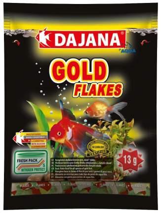Корм для рыб Dajana GOLD FLAKES, хлопья, 80 мл
