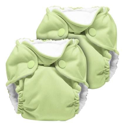 Многоразовые подгузники 2-7 кг, Lazy Lime Kanga Care 2 шт.