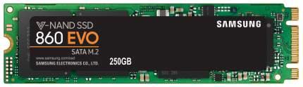 Внутренний SSD накопитель Samsung 860 EVO 250GB (MZ-N6E250BW)