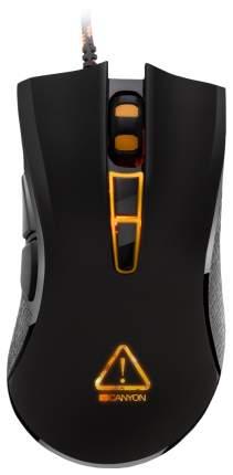 Проводная мышка CANYON CND-SGM3 Orange/Black