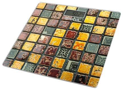 Весы напольные MARTA MT-1677 Золотистая мозаика