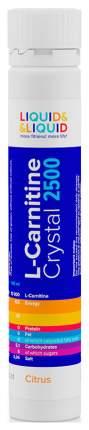 Liquid&Liquid L-Carnitine Crystal 2500, 1 ампула 25 мл, Citrus