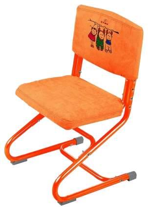 Чехол для стула Дэми замшевый Оранжевый